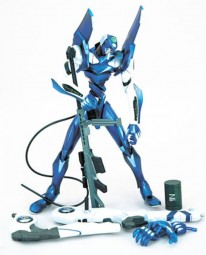 EVA Unit 00 Blue Action Figur Lunch Tube