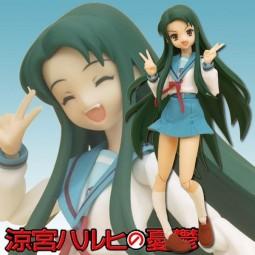 Suzumiya Haruhi no Yuutsu - Tsuruya-san School Uniform ver. - Figma