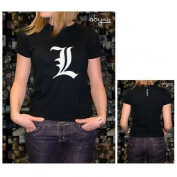 Death Note: T-Shirt L Logo Damen