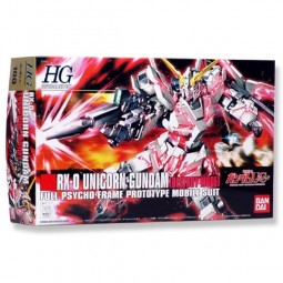 Gundam UC - HGUC RX-0 Unicorn Gundam Destroy Mode 1/144