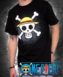 One Piece: T-Shirt Strohhutpiraten Logo