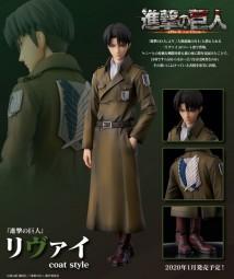 Shingeki no Kyojin: Levi Coat Style non PVC Statue
