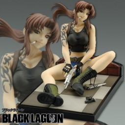 Black Lagoon: Revy Completed 1/6 Scale Cold Cast Statue