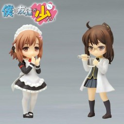 Boku wa Tomodachi ga Sukunai: Twin Pack - Rika Shiguma & Yukimura Kusunoki non Scale PVC Statue