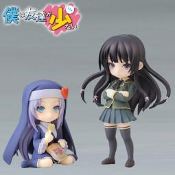 Boku wa Tomodachi ga Sukunai: Twin Pack - Yozora Mikazuki & Maria Takayama non Scale PVC Statue