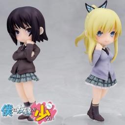 Boku wa Tomodachi ga Sukunai Next: Twin Pack - Yozora Mikazuki & Sena Kashiwazaki non Scale PVC Stat