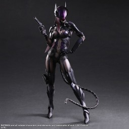DC Comics: Play Arts Kai Catwoman Action Figure