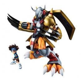 Digimon Adventure: Wargreymon & Tai non Scale Scale PVC Statue
