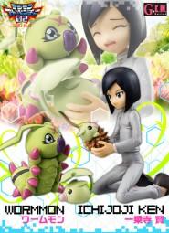 Digimon Adventure 2: Ken & Warmmon non Scale PVC Statue