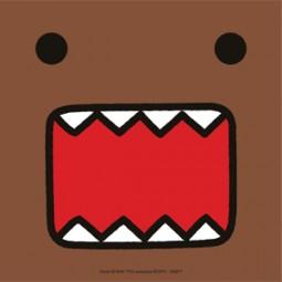 Domo kun Face Aufkleber/Sticker
