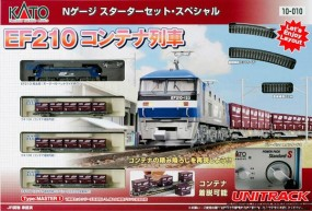 Starter Set - EF210 Lokomotive mit Containergüterwagen
