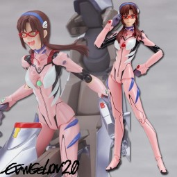 Evangelion 2.0: Mari Illustrious Makinami New Plugsuit Ver. - Figma