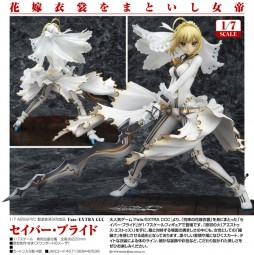 Fate/EXTRA CCC: Saber Bride 1/7 Scale PVC Statue