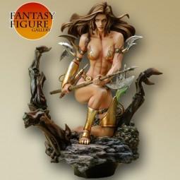 Fantasy Figure Gallery - Monica's Axe PVC Statue