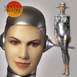 Fantasy Figure Gallery - Sexy Robot 002 Human Face Resin Statue
