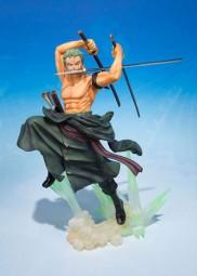 One Piece: Figuarts Zero Zoro Battle Ver. -Ultra-gari- non Scale PVC Statue