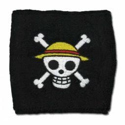 Armband/Schweißband Ruffys Strohhut Piraten Logo