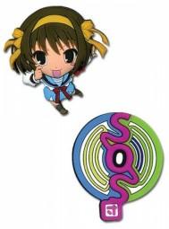 Pin Set Haruhi & SOS Logo