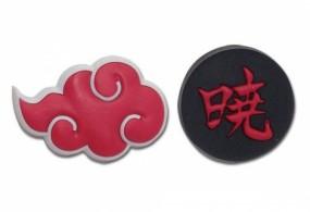 Pin Set Akatsuki Cloud & Kanji
