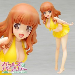 Girls und Panzer: Saori Takebe Swimsuit Ver. 1/10 Scale PVC Statue