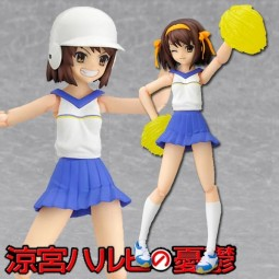 Suzumiya Haruhi no Yuutsu: Haruhi Cheerleader ver.- Figma