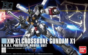 Cross Bone Gundam: HGUC Crossbone Gundam X-1 1/144