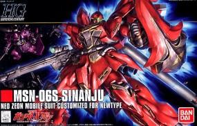 Gundam UC - HGUC MSN-06S Sinanju 1/144