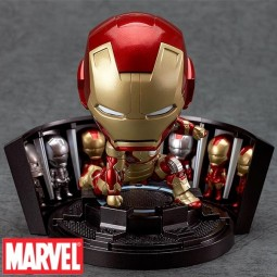 Marvel: Nendoroid Iron Man Mark 42 - Hero's Edition + Hall of Armor Set