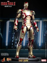 Iron Man 3: Iron Man Mark XLII MMS Diecast 1/6 Actionfigure