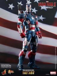 Iron Man 3: Iron Patriot MMS Diecast 1/6 Actionfigure