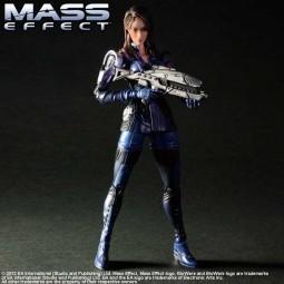 Mass Effect 3: Play Arts Kai Ashley Williams Actionfigur