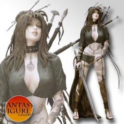 Fantasy Figure Gallery - Medusa's Gaze PVC Statue