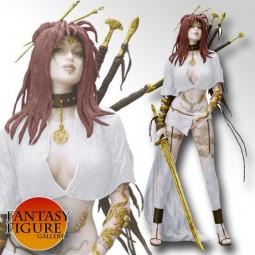 Fantasy Figure Gallery - Medusa's Gaze White Version PVC Statue