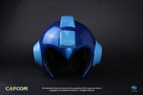 Mega Man - Replik Tragbarer Mega Man Helm mit Leuchtfunktion