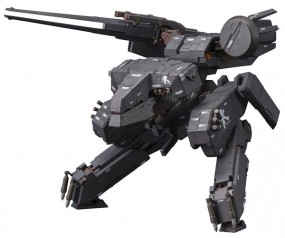 Metal Gear Solid: 1/100 Rex Black Ver. Model Kit