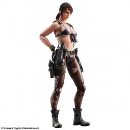 Metal Gear Solid V The Phantom Pain: Quiet Play Arts Kai Actionfigur