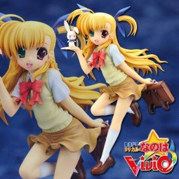 Magical Girl Lyrical Nanoha Vivid: Vivio Takamachi 1/7 PVC Statue