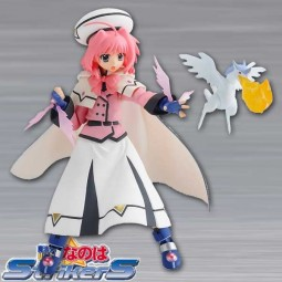 Magical Girl Lyrical Nanoha Strikers: Caro Ru Lushe Barrier Jacket Version - Figma