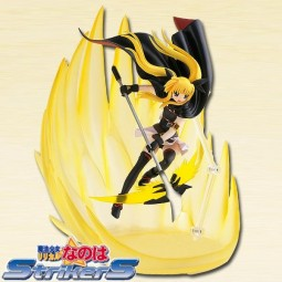 Magical Girl Lyrical Nanoha Strikers The Movie 1st: Fate Testarossa Airstriker 1/12 PVC Statue