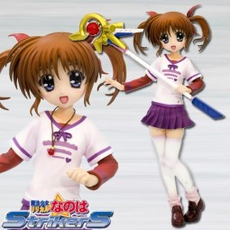 Magical Girl Lyrical Nanoha Strikers The Movie 1st: Takamachi Nanoha Everyday Wear 1/8 PVC Statue