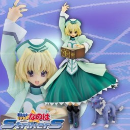 Magical Girl Lyrical Nanoha Strikers: Shamal & Zafila Puppy Ver. 1/7 PVC Statue