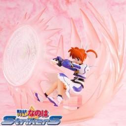 Magical Girl Lyrical Nanoha Strikers The Movie 1st: Nanoha Takamachi Airstriker 1/12 PVC Statue