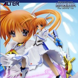 Magical Girl Lyrical Nanoha Strikers The Movie 1st: Takamachi Nanoha 1/7 PVC Statue