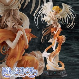 Oh My Goddess!: Belldandy with Holy Bell 1/10 PVC Statue