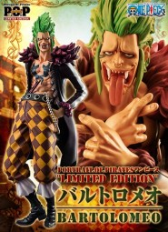One Piece: Excellent Model P.O.P Bartolomeo The Cannibal Limited Edition 1/8 Scale PVC Statue