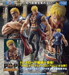One Piece: Excellent Model P.O.P Bellamy The Hyena 1/8 Scale PVC Statue
