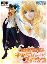 One Piece: Excellent Model P.O.P Cavendish the White Horse 1/8 Scale PVC Statue