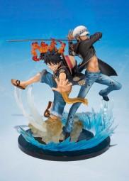 One Piece: Figuarts Zero Monkey D. Luffy & Trafalgar Law 5th Anniversary Edition non Scale PVC Statu