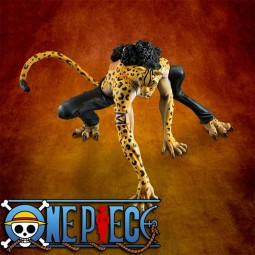 One Piece: Excellent Model P.O.P Rob Lucchi Ver. Leopard non Scale PVC Statue