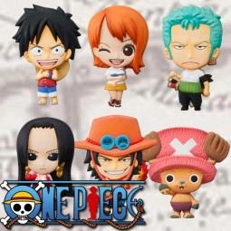 One Piece: Mascot Relief Magnet Collection 1 Box (12pcs)